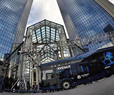 Türkiye'nin ilk yerli elektrikli otobüsü tanıtıldı