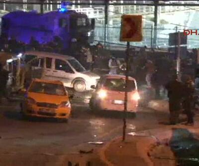 İstanbul'daki patlamadan kareler