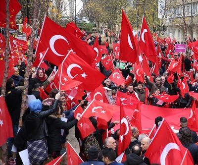 Türkiye Demokrasi Platformu'ndan teröre karşı protesto yürüyüşü