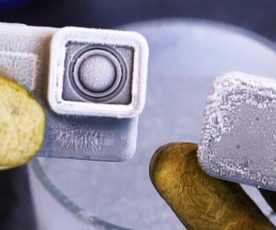 GoPro sıvı nitrojenin içinde çalışır mı?