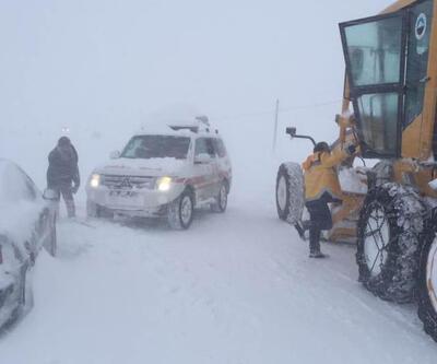 Yurdun büyük bölümü karla kaplandı