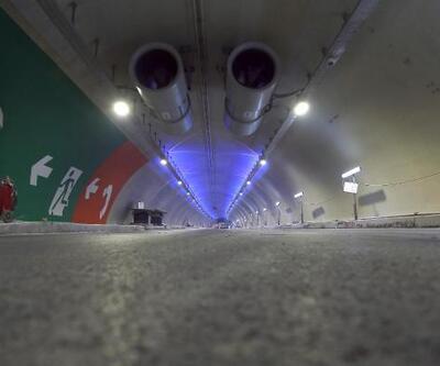 Avrasya Tüneli'nin içinden görüntüler yayınlandı