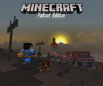 Minecraft Fallout Mash-Up Pack duyuruldu