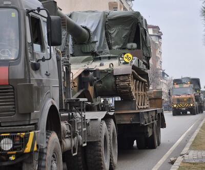 Fırtına obüsleri El Bab için sınıra sevk edildi