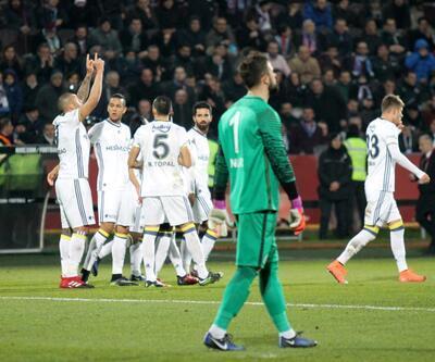 Fenerbahçe Trabzon'da rahat kazandı