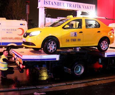 Terörist bu taksiyle geldi iddiası