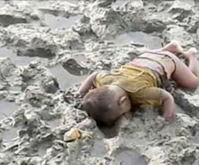 16 aylık Muhammed'in fotoğrafı Aylan bebeği hatırlattı