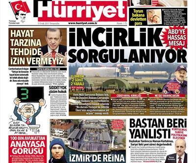 5 Ocak 2017 - Günün gazete manşetleri