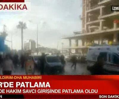 DHA muhabiri İzmir'deki patlamayı anlattı