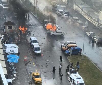 İzmir'de patlama! Olay yerinden ilk kareler