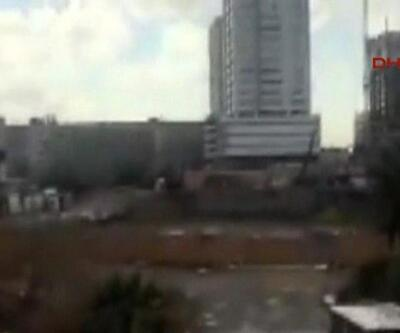 Patlamanın ardından çatışma çıktı