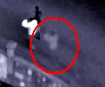 Esrarengiz görüntü güvenlik kamerasında ortaya çıktı