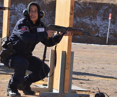 Afgan kadın polisler de Sivas'ta eğitim aldı