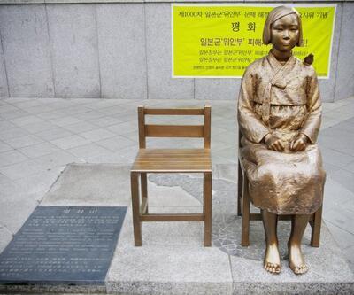 Japonya ve Güney Kore arasında heykel gerginliği
