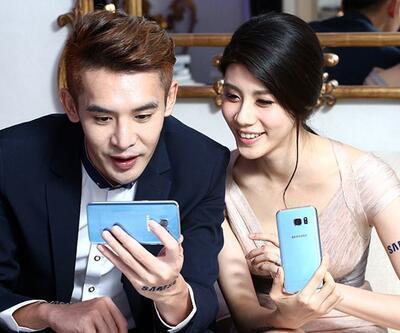 Mavi Galaxy S7 geliyor!