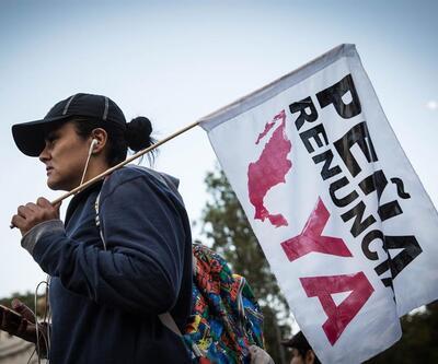Meksika benzin fiyatlarına gelen zama tepki gösterdi