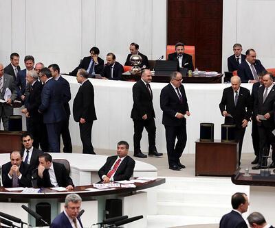 Meclis'te yavaşlatma eylemi