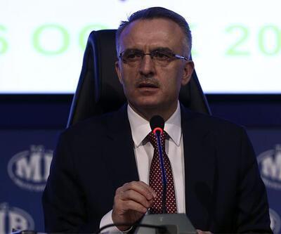 Bakan Ağbal'dan bütçe rakamları açıklaması