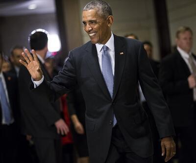 Obama son kez Beyaz Saray'dan gazetecilere seslendi