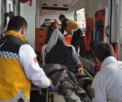 Piliç tesisinin çatısı çöktü: 1 işçi öldü, 3 işçi ağır yaralı