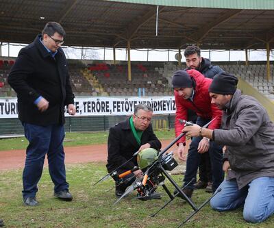 Sakarya'da belediye kaçak yapılarla drone'la mücadelede edecek
