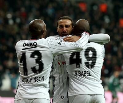 Beşiktaş Konyaspor'u dağıttı