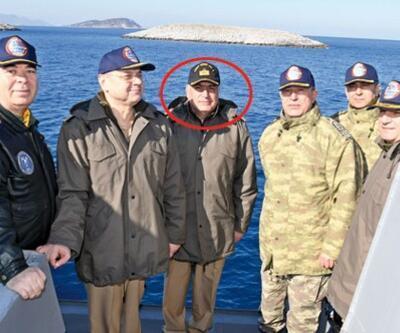 Balyoz kumpasından Kardak'ta Genelkurmay Başkanı'nın yanına...