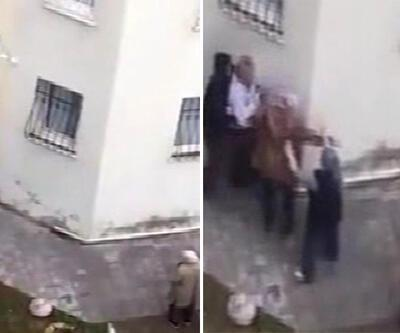 İzmir'de yaşlı kadına köpek tepkisi