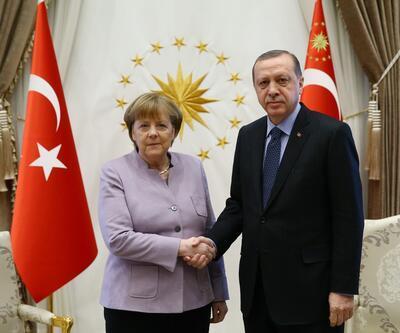 Cumhurbaşkanı Erdoğan'dan Merkel'in sözlerine tepki
