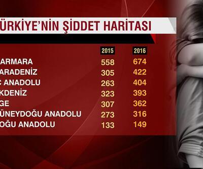 Türkiye şiddet haritası açıklandı