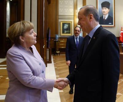 Erdoğan'dan Merkel'in sözlerine tepki
