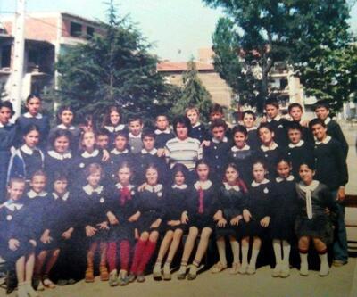 Şebnem Ferah'ın ilkokulda çekilen fotoğrafı ortaya çıktı
