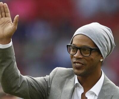 Ronaldinho yarın Türkiye'ye geliyor