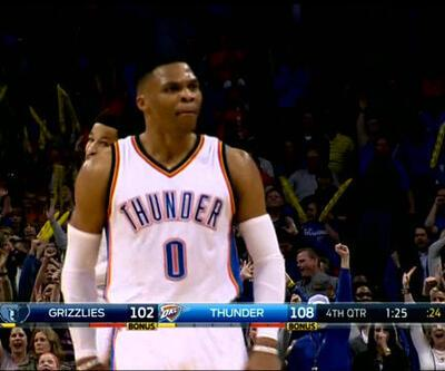 Westbrook'un triple-double koleksiyonu