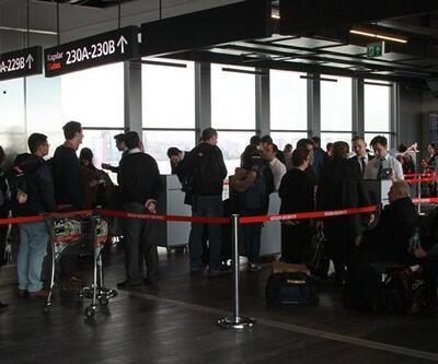 Trump'ın vize yasağının geçici olarak durdurulmasının ardından Atatürk Havalimanı