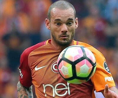 Başakşehir - Galatasaray maçında Wesley Sneijder şoku