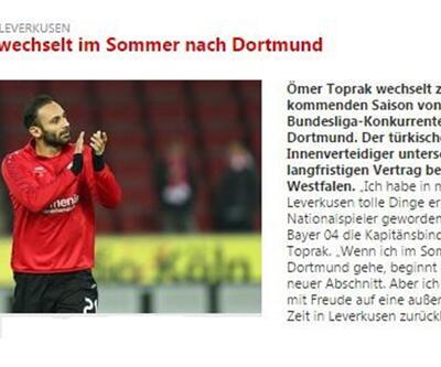 Son dakika... Ömer Toprak Borussia Dortmund'ta