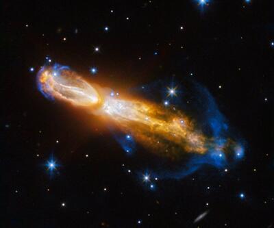 Yıldız sönerken görüntülendi