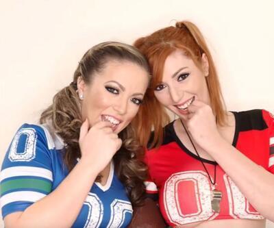 Porno yıldızları Carmen Valentina ve Lauren Phillips sözünü tutacak mı?