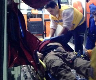 Taksisinde kalbinden bıçaklandı