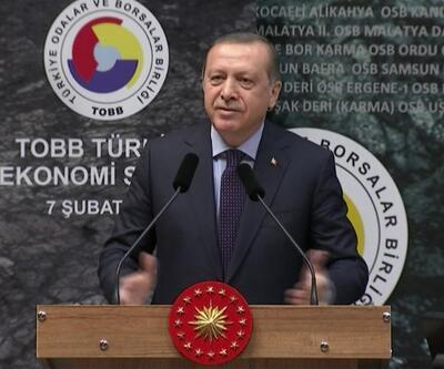 Cumhurbaşkanı Erdoğan'dan sert tepki: Sana ne referandumdan
