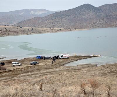 Barajda balık tutarken, buz kırılınca suya düşüp boğuldu