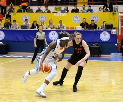 FIBA Kadınlar Avrupa Ligi: Hatay Büyükşehir Belediyespor: 58 - CCC Polkowice: 54