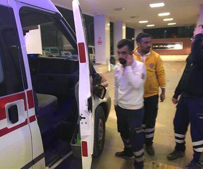 Yaralıları taşıyan ambulansa saldırdılar