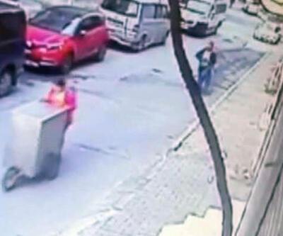 Bağcılar'da 17 yaşındaki Cansu'nun öldürülme anı kamerada