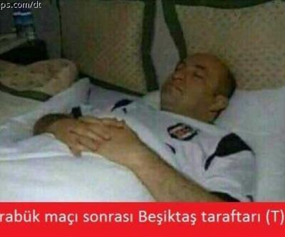 Beşiktaş'ın yenilgisini konu alan 8 caps