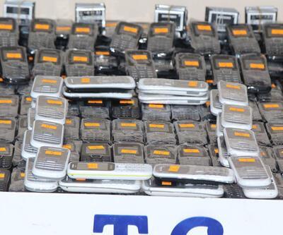 Diyarbakır'da 836 kaçak cep telefonu ele geçirildi
