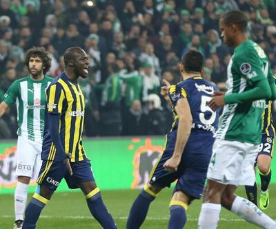 Bursaspor 1-1 Fenerbahçe / Maç Özeti
