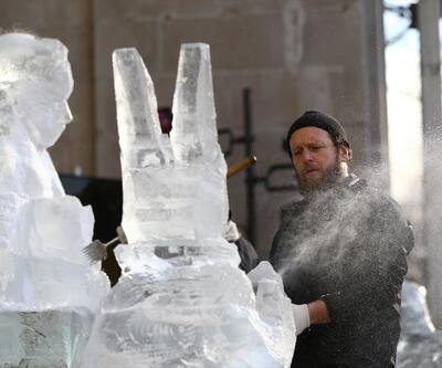 Buz kütlesine hayat verdiler