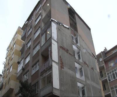 Zabıtanın boşalttığı binadaki 11 daire soyuldu